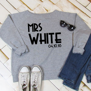 Just Married Sweatshirt - view all