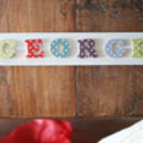 Personalised Children's Wooden Name Plaque