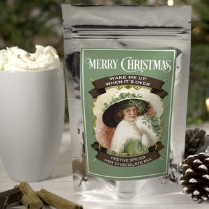 Wake Me Up When It's Over Festive Hot Chocolate - teas, coffees & infusions