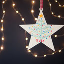 personalised christmas star gift for children