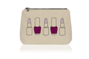 Nails And Lips Make Up Bag - make-up & wash bags