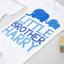 little brother babygrow