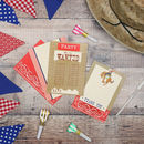 Cowboy Party Invitations And Thank You Notes