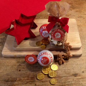 Mr Stanley's Chocolate Bauble And Gingerbread Men - gift sets