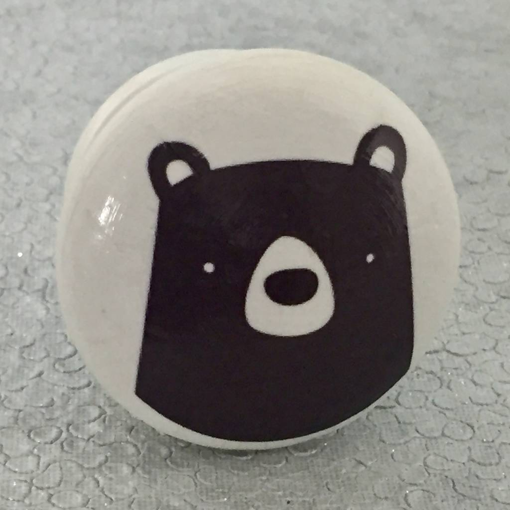 Children S Bear Face Furniture Knobs Door Knobs By Surface Candy