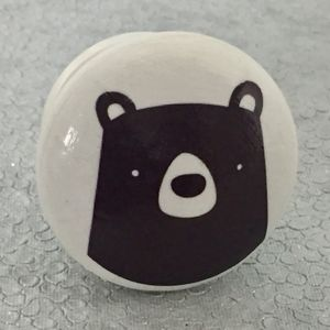 Children's Bear Face Furniture Knobs, Door Knobs - door knobs & handles