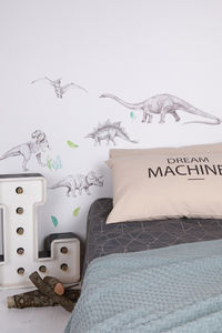 Dinosaur Fabric Wall Decals