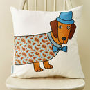 Larry The Long Dog Cushion