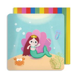 Mermaid Jelly Magnet Card
