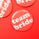 Team Bride Hen Party Badges