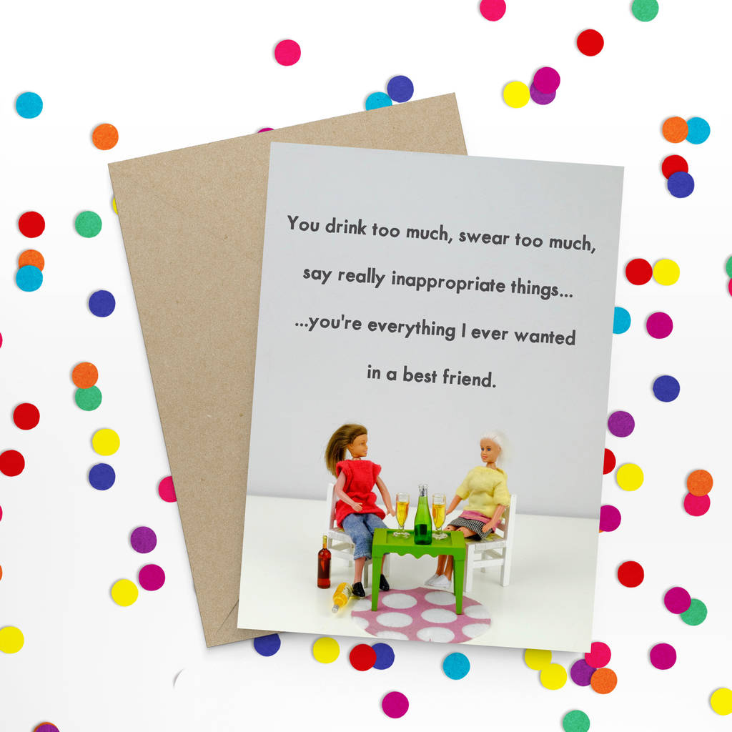 Funny Friendship Card