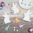 Easter Themed Bunny Rabbit Table Favours And Treats
