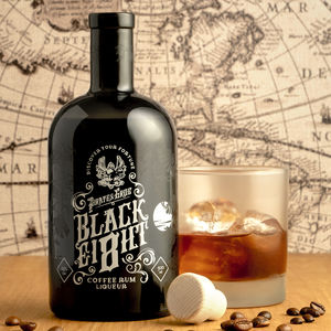 Black Ei8ht Coffee Rum By Pirate's Grog - personalised