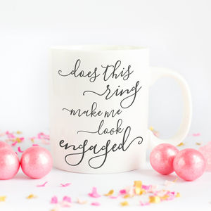Engagement Bride To Be Gift Mug