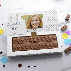 Personalised Chocolate Bar Gift - chocolates & confectionery