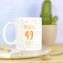 Personalised 50th Birthday Mug