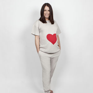 Pregnancy Gift Maternity Pyjamas Heart - women's fashion
