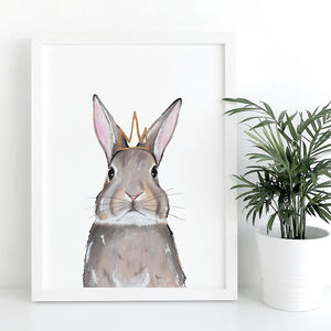 Nursery Print Rabbit