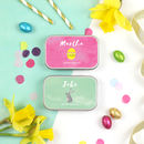 Personalised Easter Chocolate Gift Tin