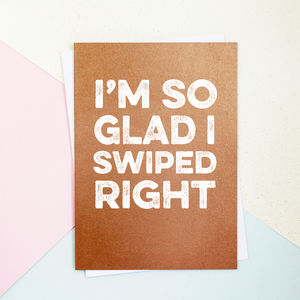 Tinder Valentine's Day Card