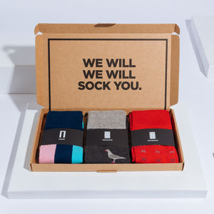 Trafalgar Box Of Socks Gift Set - view all father's day gifts