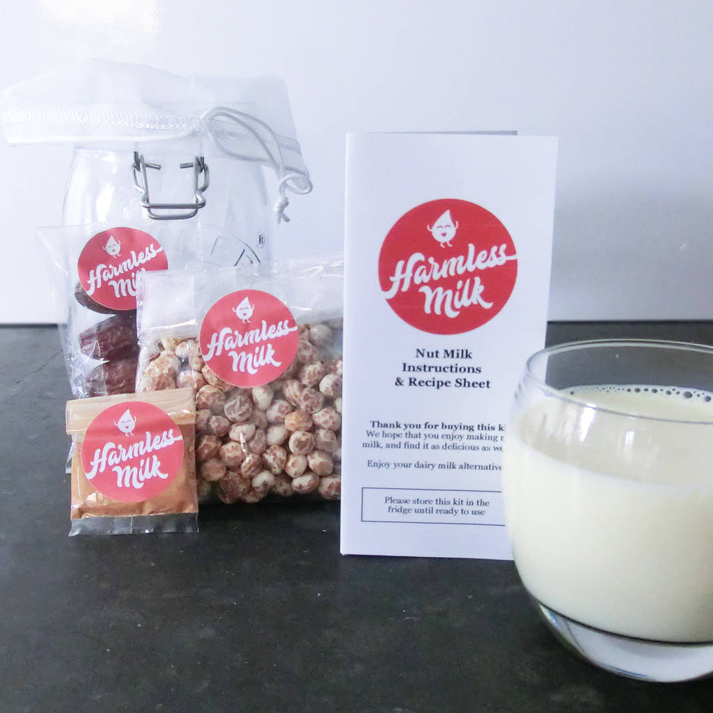 Make Your Own Organic Tigernut Milk Kit