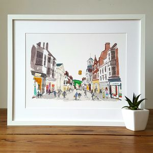Guildford High Street Limited Edition Giclee Print - view all new