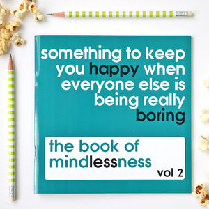 Book Of Mindless Fun For Adults