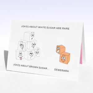 Personalised Sugary Birthday Card