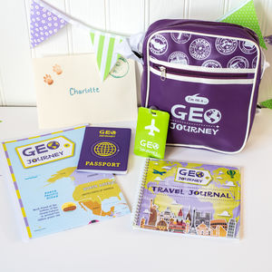 Geo Journey Adventure Kit And Monthly Country Packs - new in