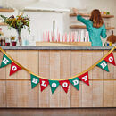 'Ho Bloody Ho' Christmas Bunting