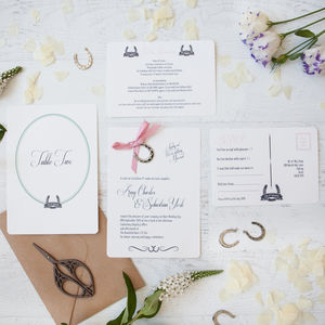 'Lucky Us' D.I.Y Invitation Pack - table plans