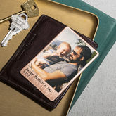 Personalised Solid Copper Wallet Photo Card - valentine's day