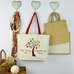 Personalised 'Best Nanny' Bag