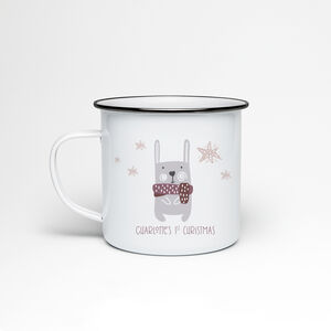 Child's Christmas Enamel Mug