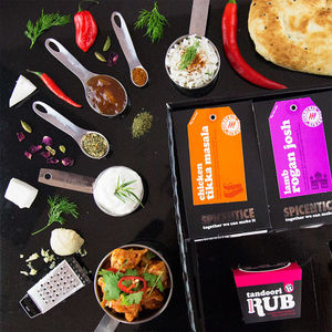 Become A Curry Connoisseur - sauces & seasonings