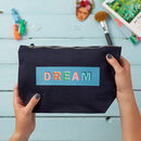 Dream Power Of Positivity Make Up Pouch