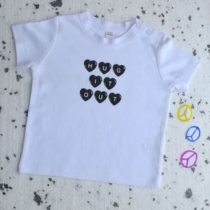 'Hug It Out' Baby And Toddler Tshirt