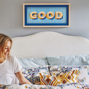 3D 'Good Morning, Good Night' Print
