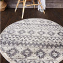 Round Textured Bath Mat