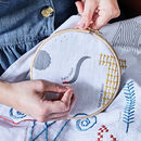 Alphabet Linen Embroidery Kit