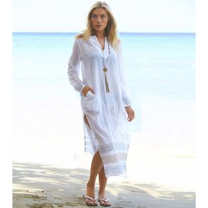 Aspiga Guadalupe Long White Tunic - tops & t-shirts