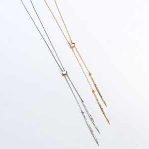 Diamante Chime Pendant Necklace