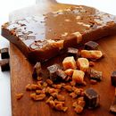 The Caramel Fudge Brownie Chocolate Slab Gift