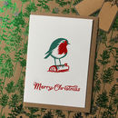 Robin Christmas Cards Pack
