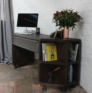 Fairfield Reclaimed Scaffolding Board Industrial Desk - furniture