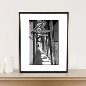 Light, Medina, Fes, Morocco Art Print