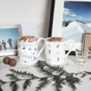 Skiing Mugs Set