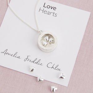 Love Heart Locket - gifts for new mums