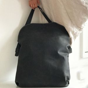 Leather Oversize Bag - holdalls & weekend bags